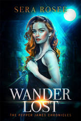 WANDER LOST fictional book cover