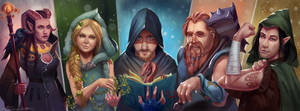 Dungeons and Dragons by MilicaClk