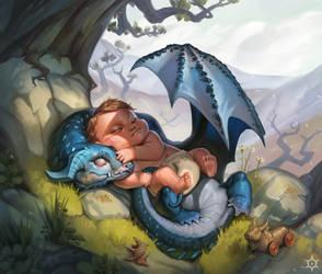 Nanny Dragon by MilicaClk