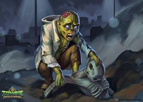 Zombie Battleground: Ghoul by MilicaClk