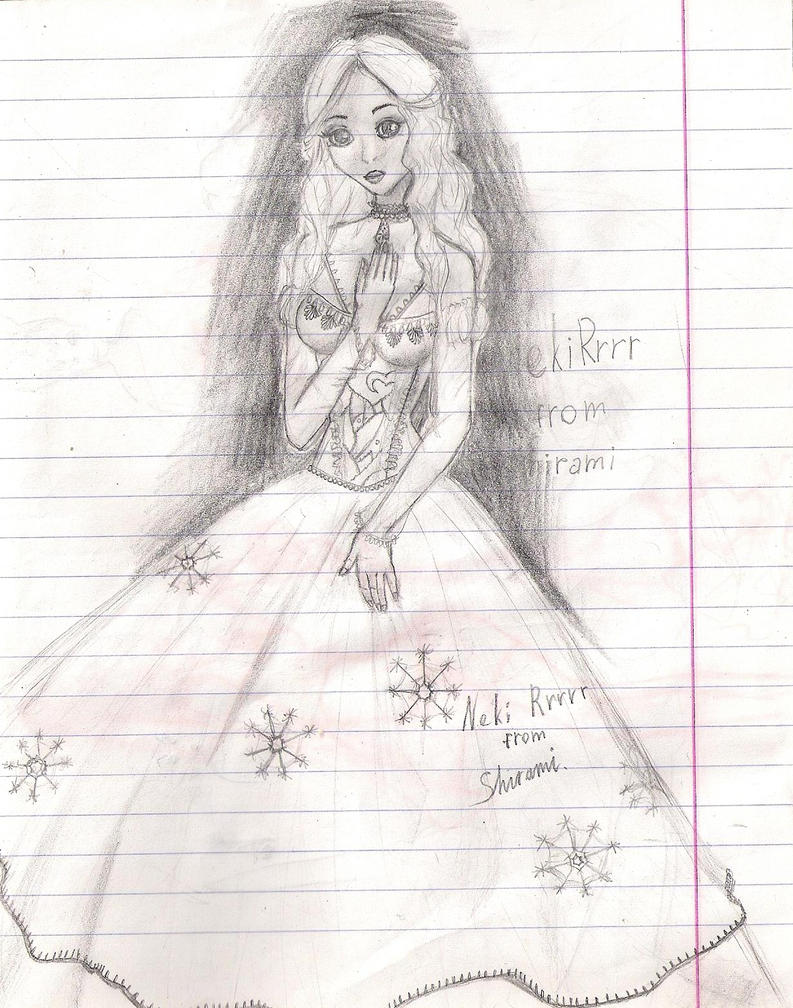 the white queen by Shirami-Sveto4ka
