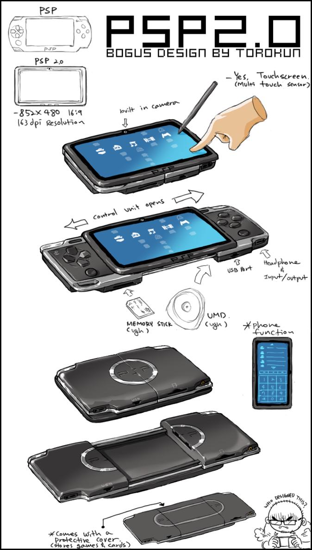 PSP 2.0 by torokun