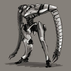 Daily Doodle mecha time