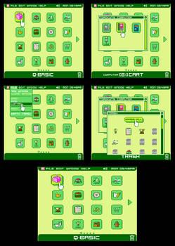 8 BIT Computer OS GUI Design