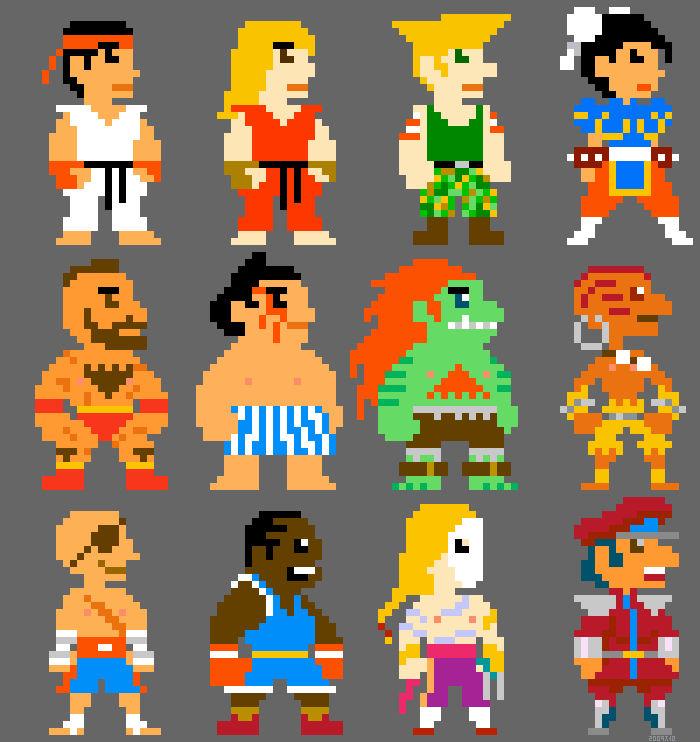 Super Street Fighter Bros II