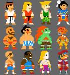 Super Street Fighter Bros II by torokun