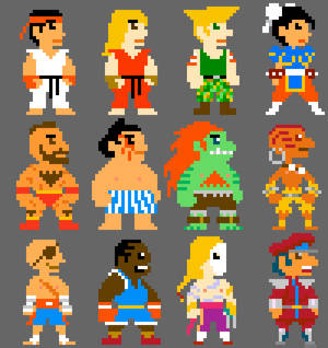 Super Street Fighter Bros II