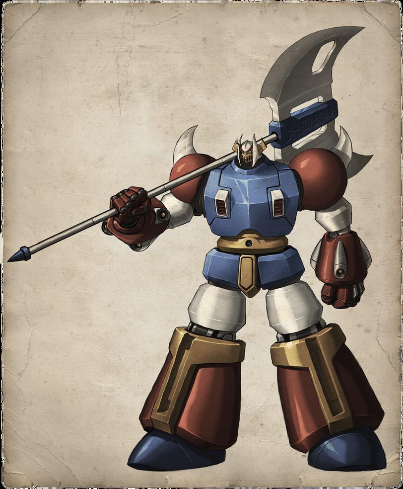 Bronze Giant Animation Version by torokun
