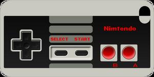 iPhone 4 NES Controller Skin by torokun