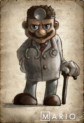 Mario DR by torokun