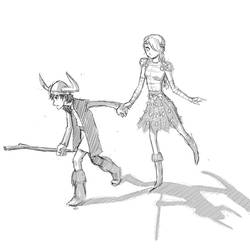 Hicco and Astrida by torokun