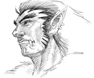 Handsom Orc by torokun