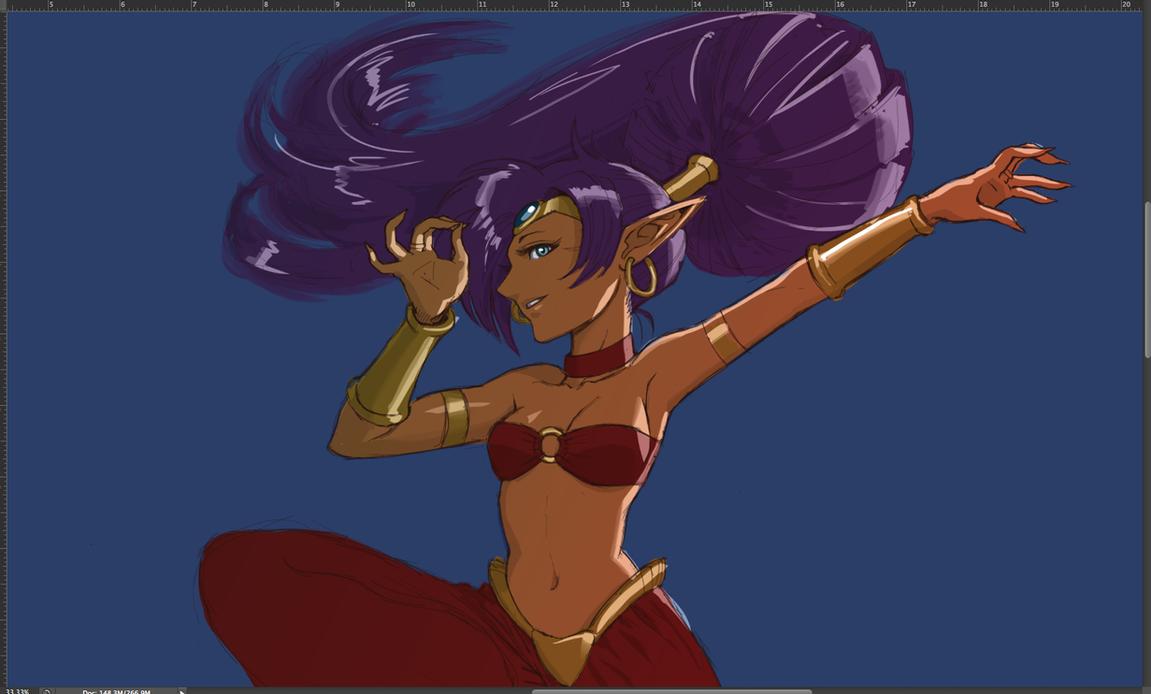 Shantae Fanart by torokun