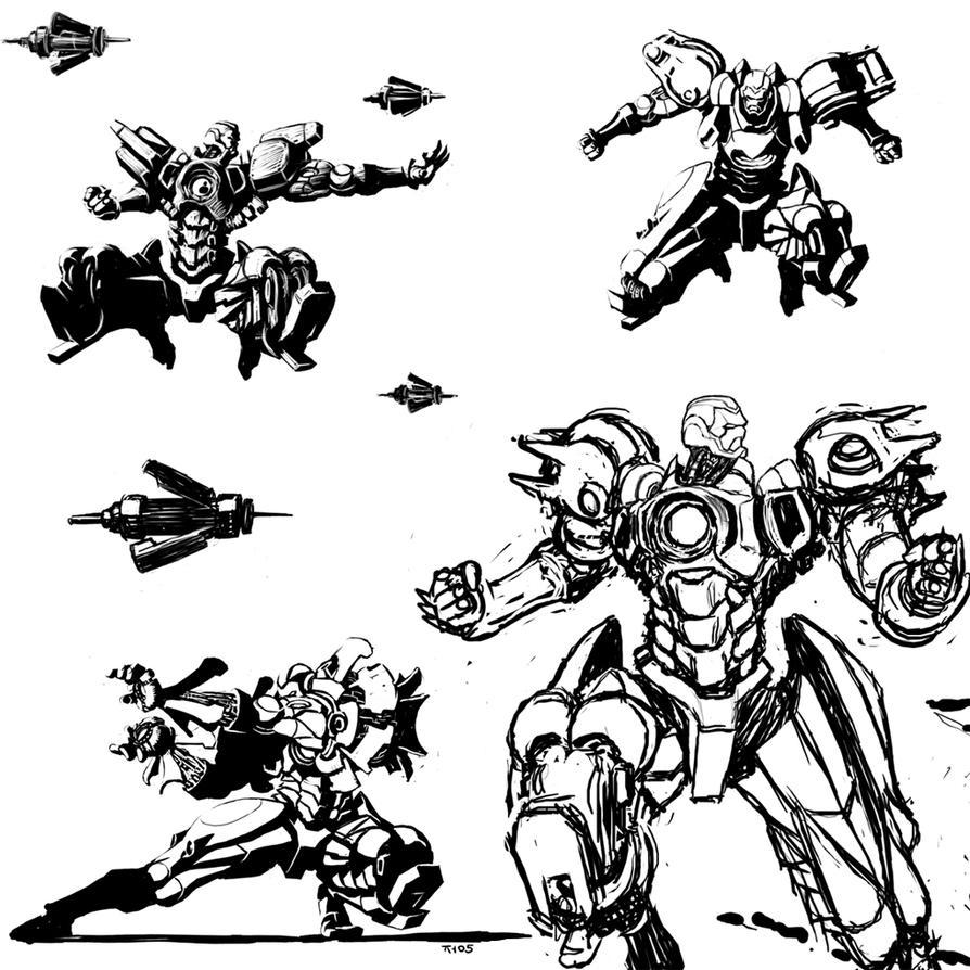 ironman sketch by torokun on deviantart
