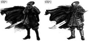 Black Knight Design Study by torokun