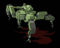 Unmanned Variable Tank by torokun