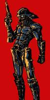 Samurai Gun Fanart Sketch