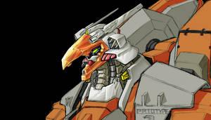 Side Arms Fanart -WIP- by torokun