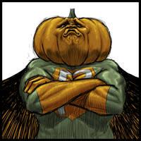 Pumpkin Man by torokun