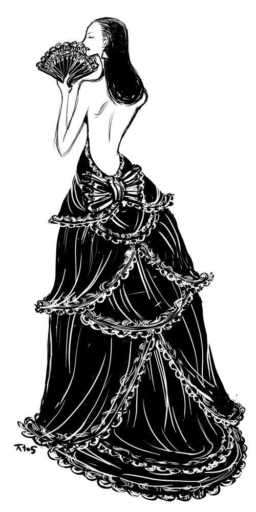Fashion Sketch? by torokun