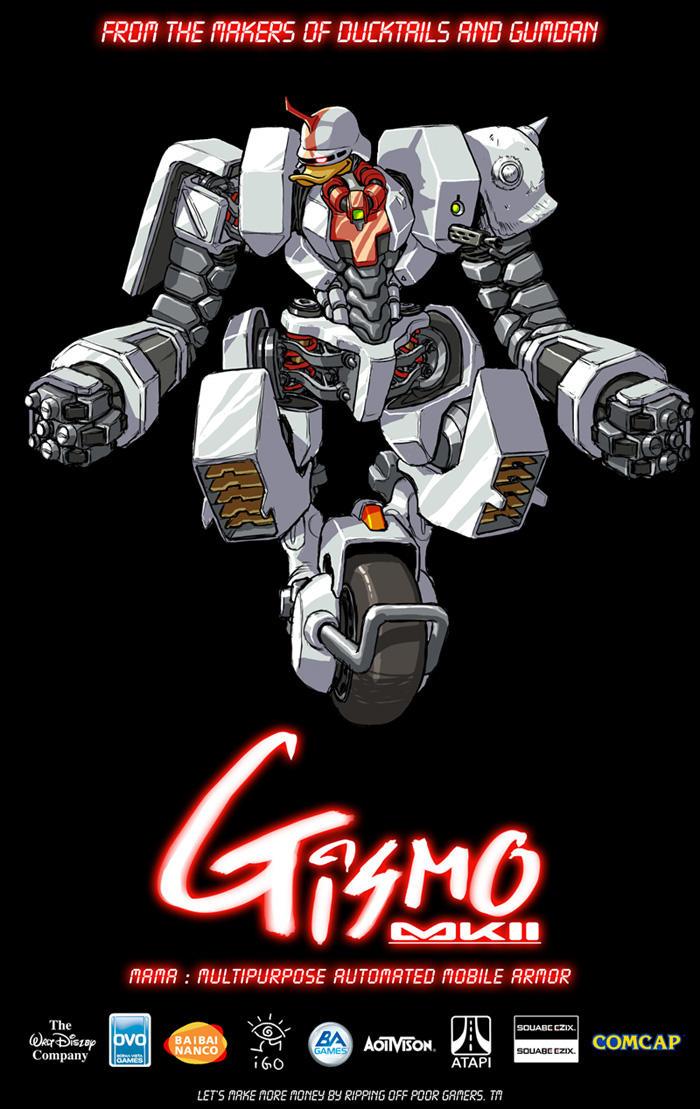 Gis'z'mo Fanart by torokun