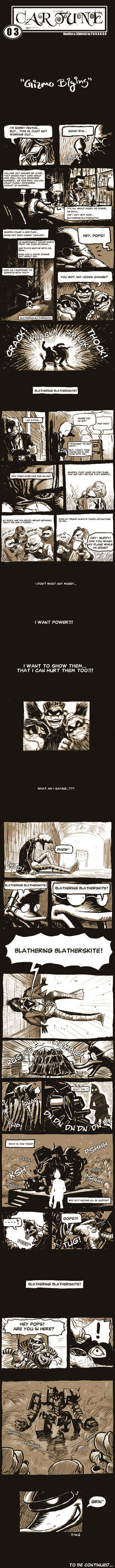 Gizmo Duck Fan Comic by torokun