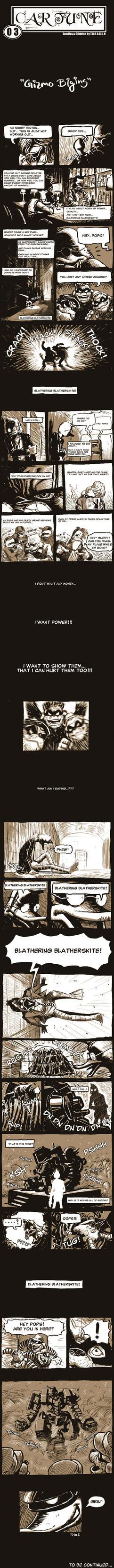 Gizmo Duck Fan Comic by torokun