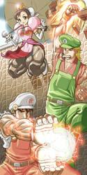 Super Street Fighter Bros by torokun