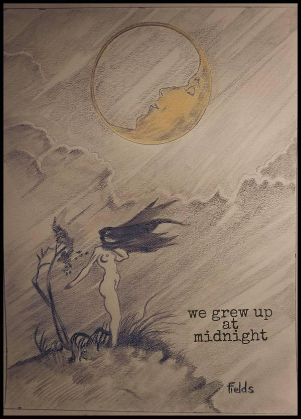 We grew up at Midnight by bfields9187