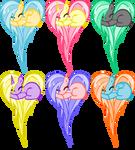 Heart Pony Adopts