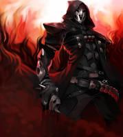 Old Art trade-Overwatch Reaper