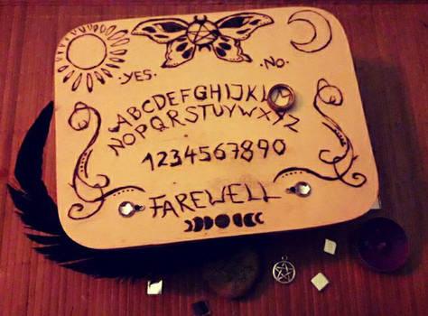 [Woodburning] Personal Ouija Box