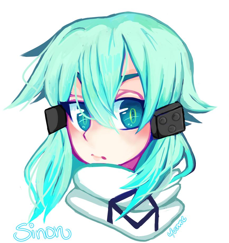 Sinon//SAO by kaykayamy