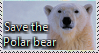 Save The Polar Bear Stamp by TheMoonRaven