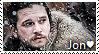 Jon Snow Stamp by TheMoonRaven