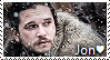 Jon Snow Stamp by TheMoonRaven