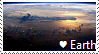 Earth At Night Stamp by TheMoonRaven