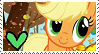 Applejack Stamp by TheMoonRaven