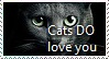 Cats Love YOU Stamp by TheMoonRaven