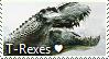 Tyrannosaurus Rex Stamp by TheMoonRaven