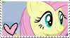 Fluttershy Stamp by TheMoonRaven