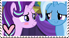 Starlight x Trixie Stamp by TheMoonRaven