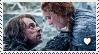 Sansa x Theon Stamp by TheMoonRaven