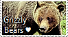 Grizzly Bear Stamp by TheMoonRaven