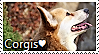 Welsh Corgi Stamp by TheMoonRaven
