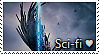 Science Fiction Stamp by TheMoonRaven