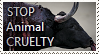 STOP ANIMAL CRUELTY Stamp by TheMoonRaven