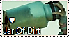 Jar of DIRT Stamp by TheMoonRaven