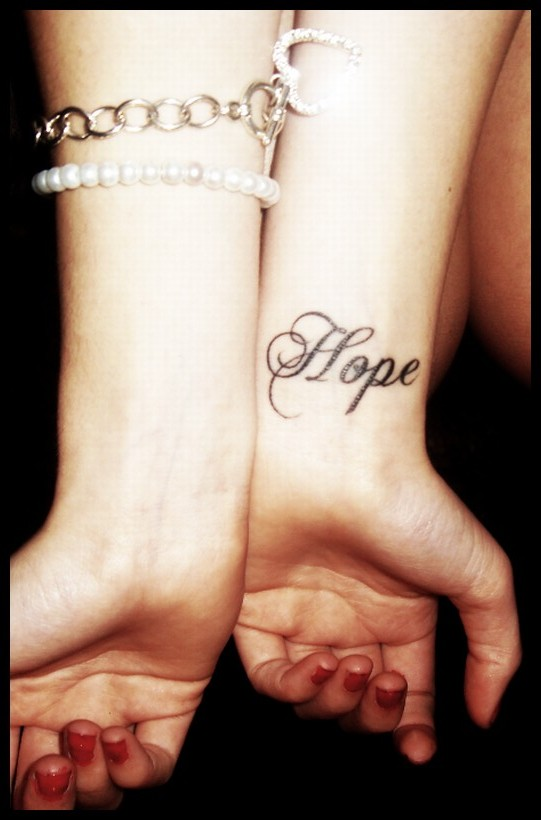 Hope tattoo by shat tered