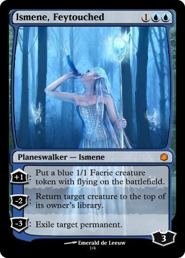 Meet Ismene - Custom Card Creation - Magic Fundamentals ... Planeswalker Art